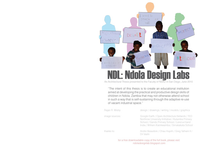 Ndola Design Labs Booklet