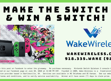 NINTENDO SWITCH PROMOTIONAL GIVEAWAY!