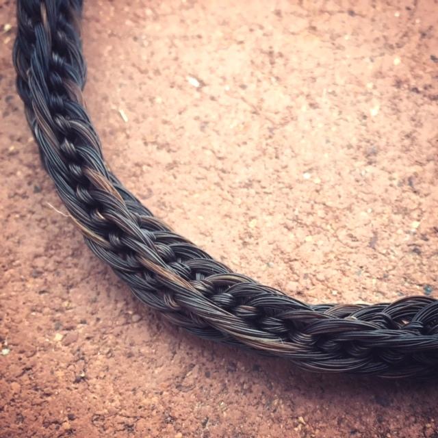 Half twist chain braid.