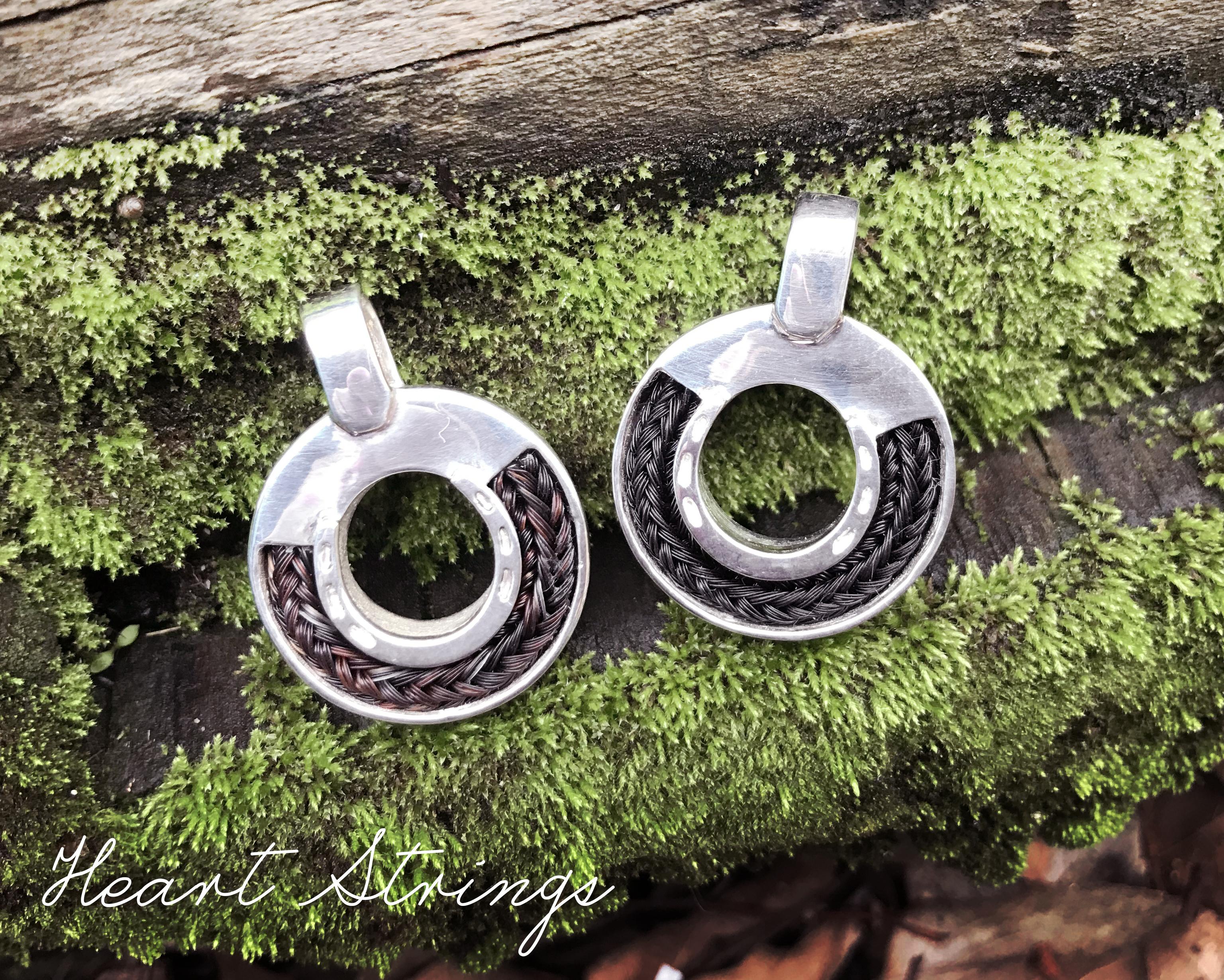 Horse shoe pendants