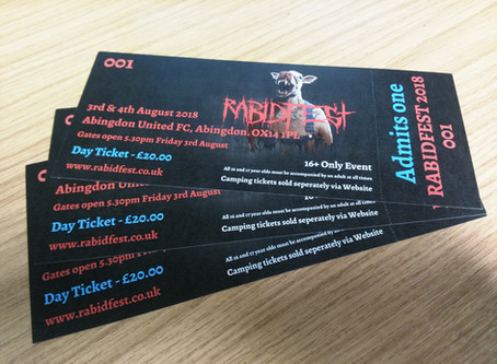 Tickets have arrived!