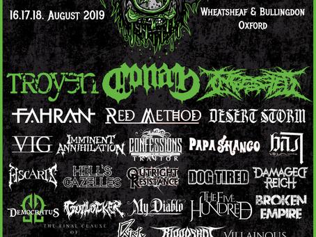 Rabidfest 2019 Full Lineup