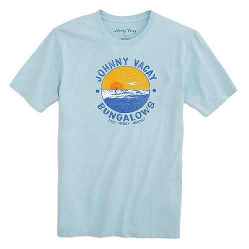 Seaside Bungalows Short Sleeve T-Shirt
