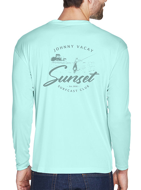 Surf Cast Club Performance Long Sleeve T-Shirt