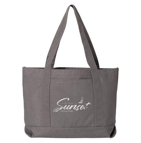 Sunset Sail Beach Bag
