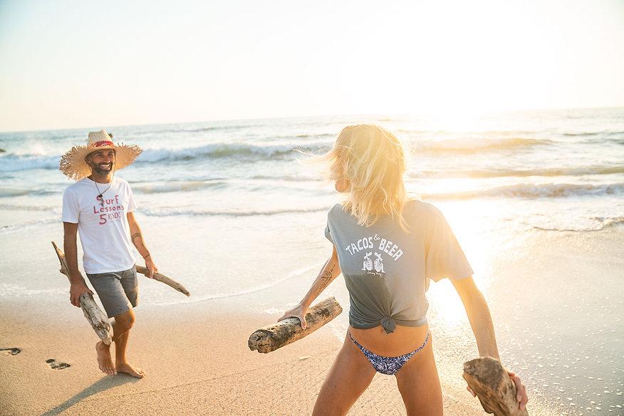 tacos and beer tee shirt beach tee