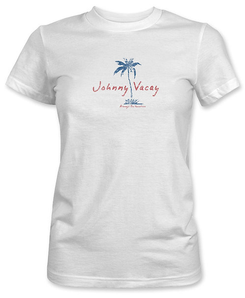 Palm Tree Beach Tee