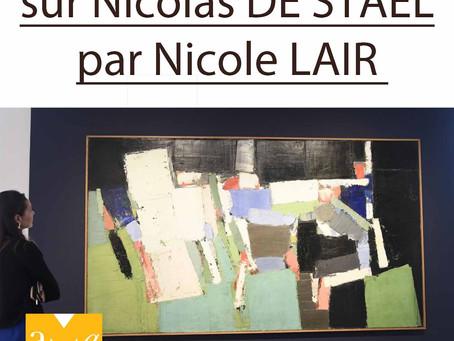 Conférence sur Nicolas de Staël : un succès