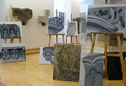 toiles des chapiteaux de l'espace Médièv