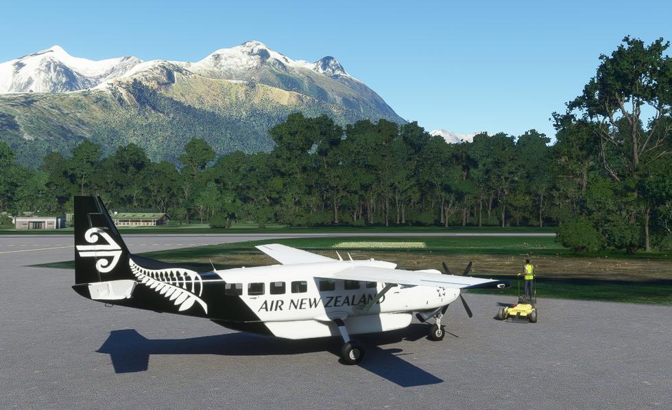 Air New Zealand (Cessna 208B Grand Caravan)