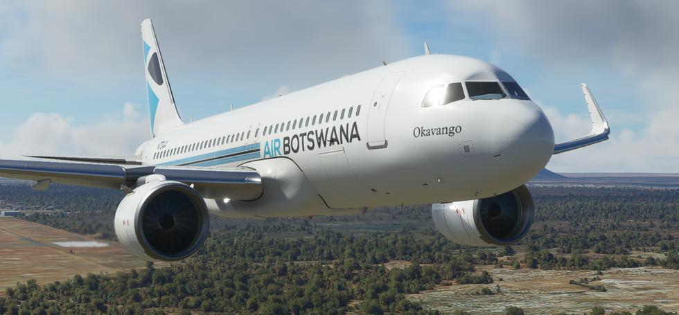 Air Botswana (A320no)