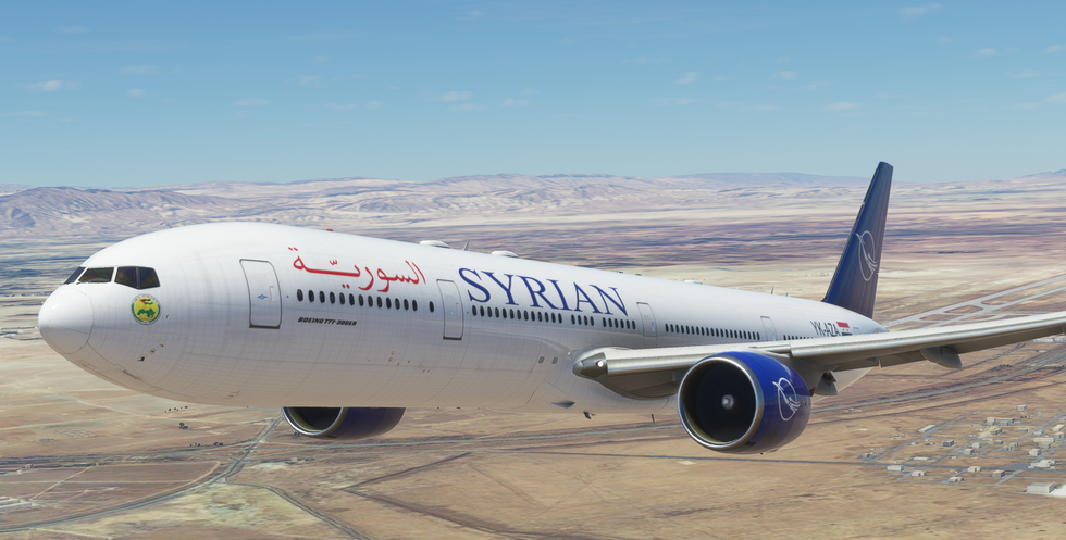 Syrian Airlines (777-300)