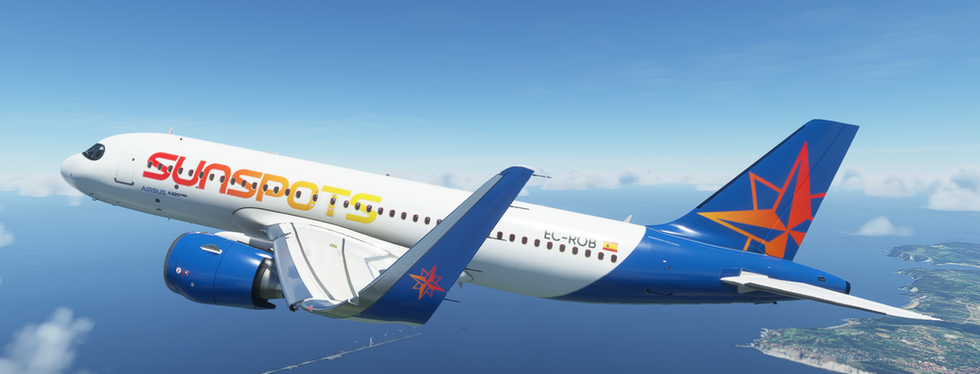 Airwego Sunspot - Virtual Airline (A320neo)