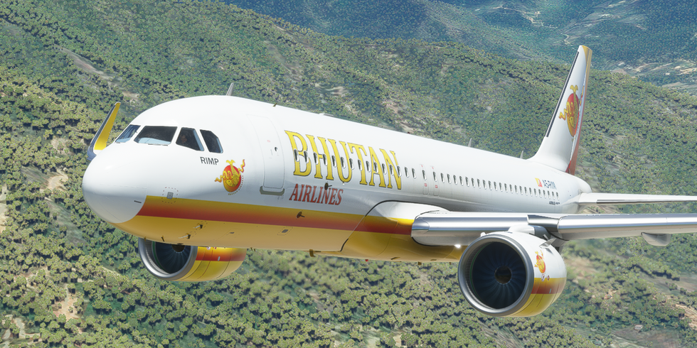 Bhutan Airlines (A320neo)