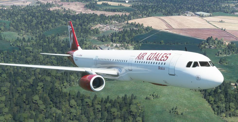 Air Wales - Virtual Airlines (A321) - airwalesv.org