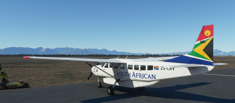 South African Airways (Cessna 208B Grand Caravan)