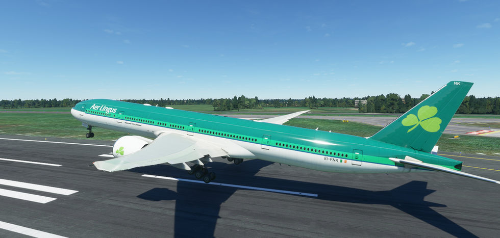 Aer Lingus (old livery) (777-300)
