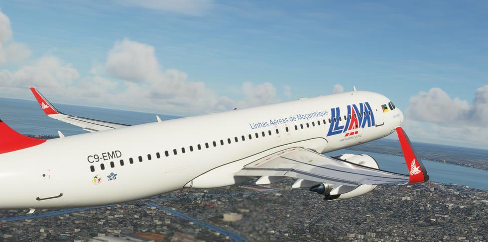LAM Mozambique (A320neo)