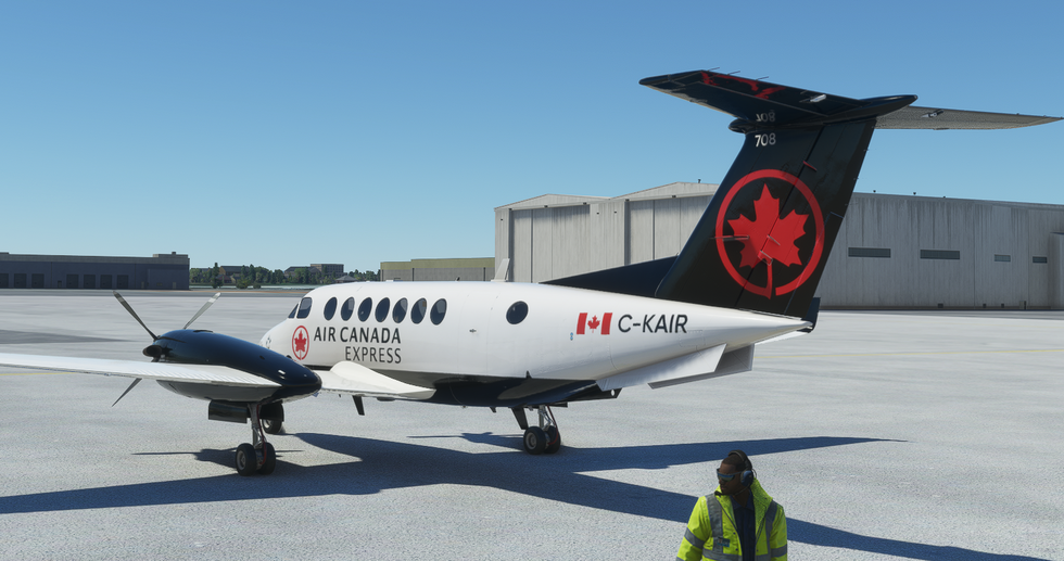 Air Canada Express (King Air 350i)