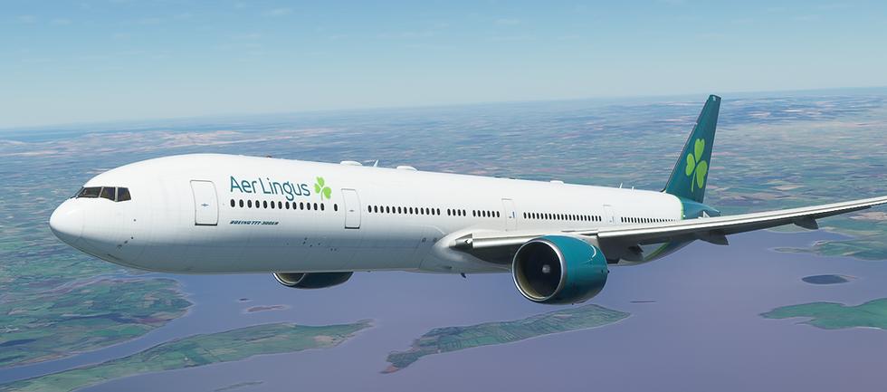 Aer Lingus (new livery) (777-300)