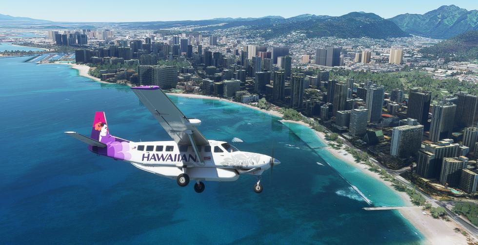 Hawaiian Airlines (Cessna 208B Grand Caravan)