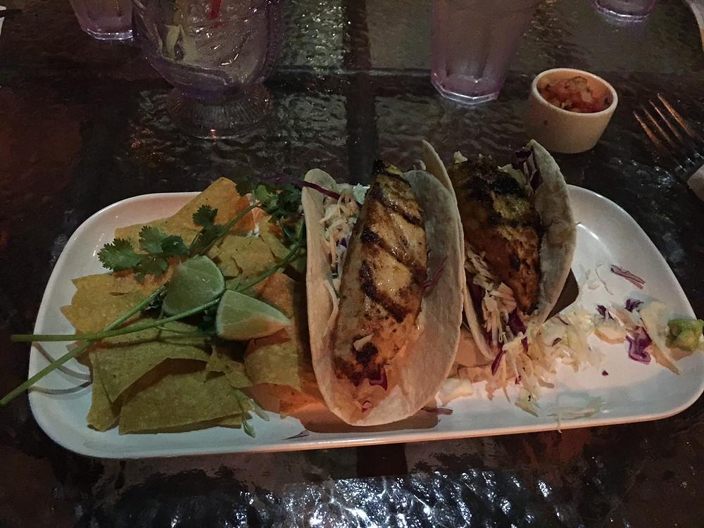 Fish Tacos from Duke's
