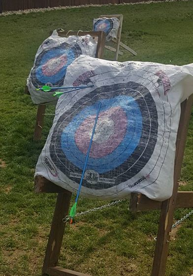 I hit the target!!!!