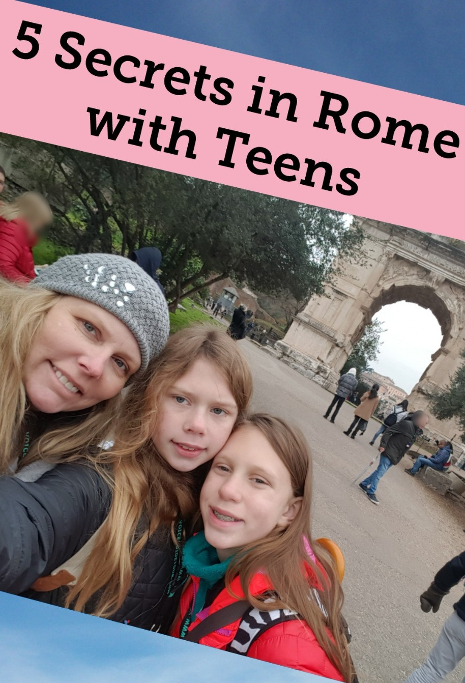 5 Secret Things to do in Rome with Teens Besides the Usual Stuff