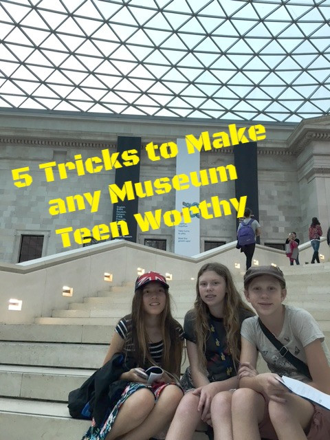 5 Tricks to Make any Museum Teen Worthy