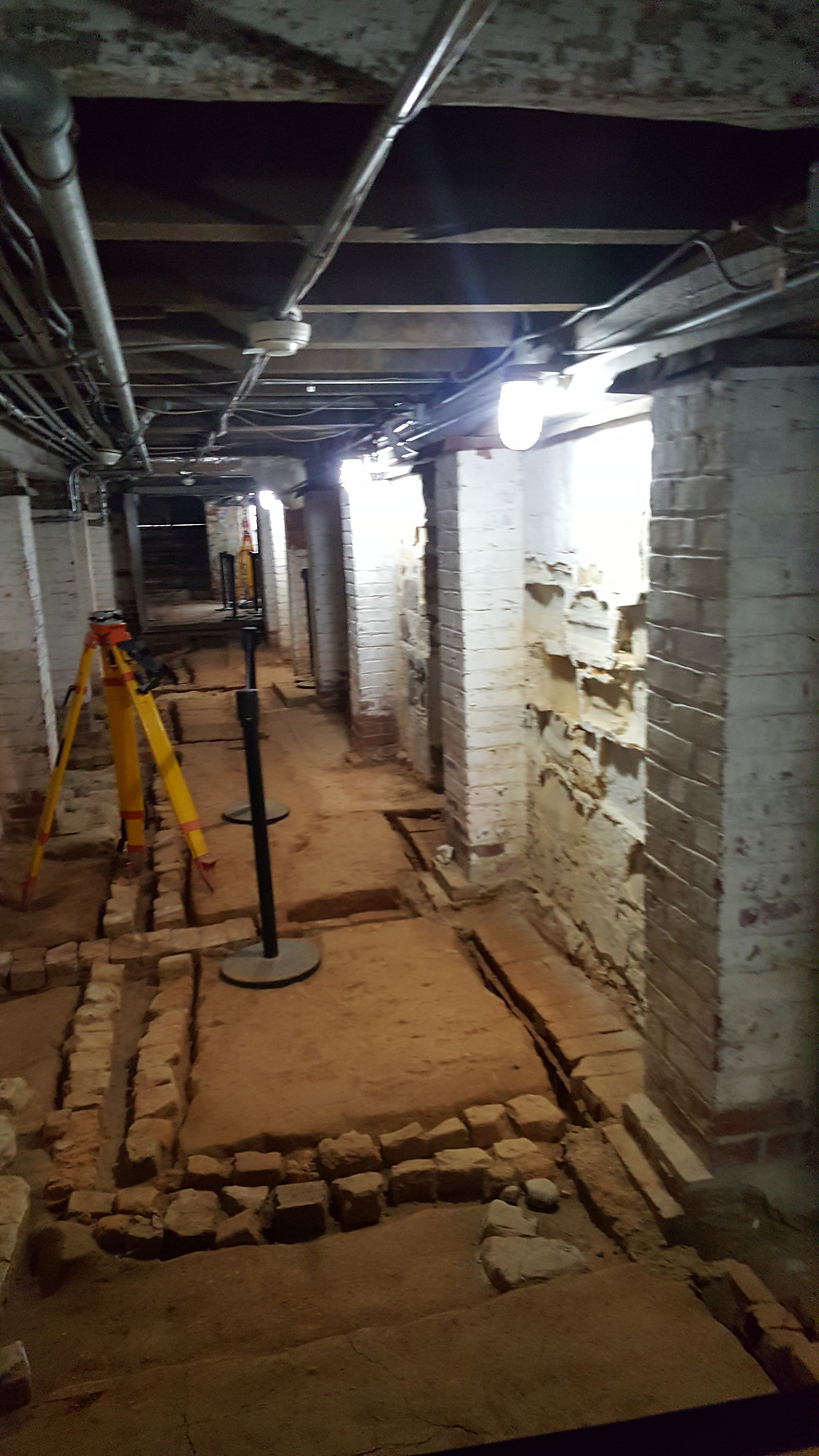 The Basement of MV. Part of the National Treasure tour.