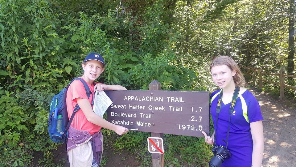 Hiking in the Great Smokey Mountains