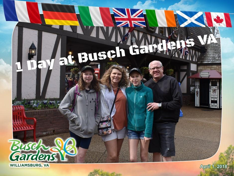 One Adventure Filled Day at Busch Gardens Virginia