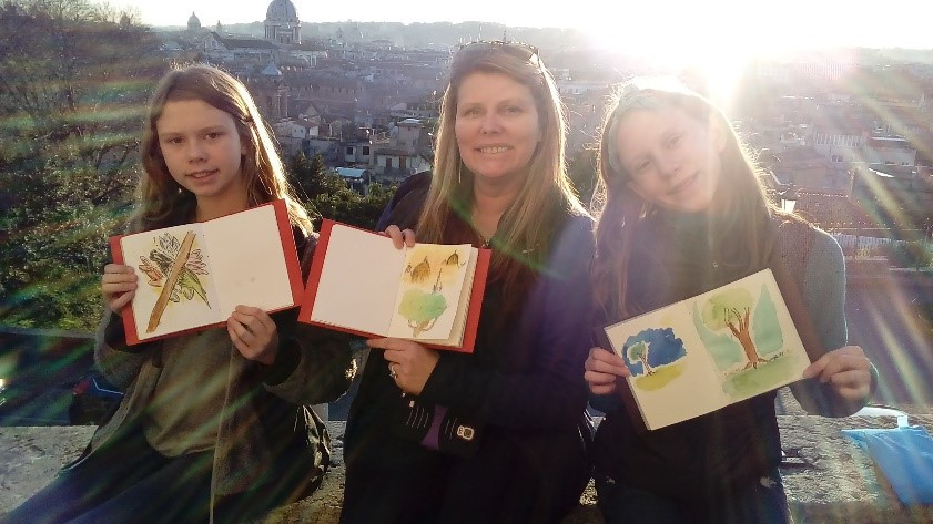 Sketching in Rome