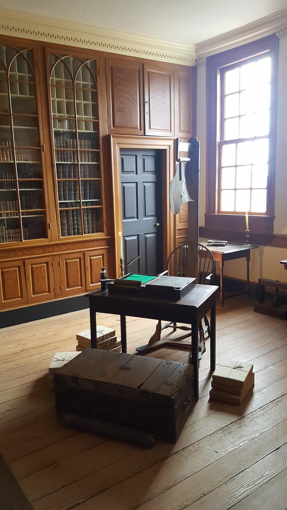 Washington's study