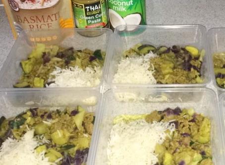 Thai Green Curry (Lite Coconut Milk)
