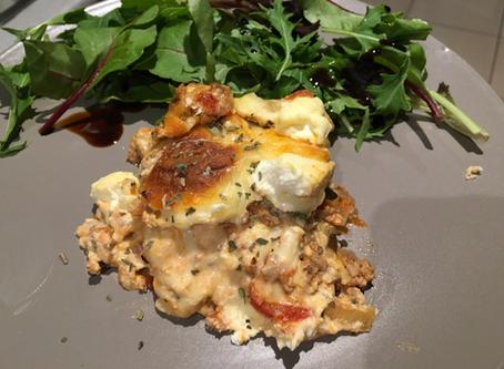 Cheesy Healthy Low Carb Lasagne