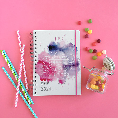 CHF Yearly Planner 2