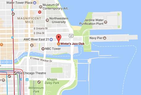 Map 2 Winter's Jazz Club