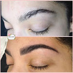 Tint and shape 🖤_•_•_#brows #lovelife #