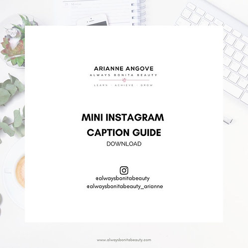 Mini Instagram Caption Guide