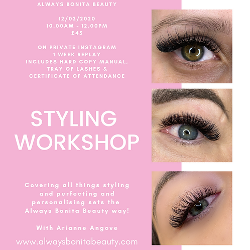 Online Styling Workshop with Manual