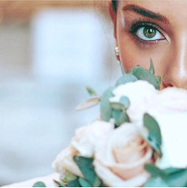 Bridal beauty for _naomiasantechambers w
