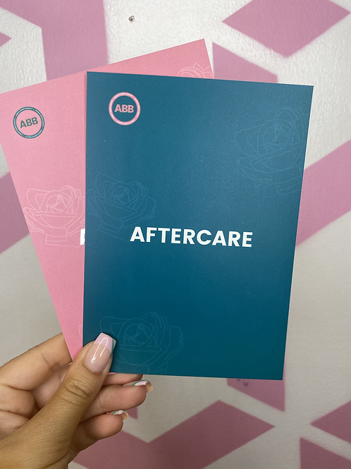 Aftercare Cards