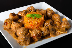 Spanish Style Meatballs