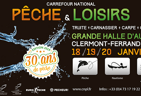 Salon de la pêche de Clermont Ferrand 2019