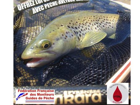 Offrez lui un Stage de pêche en Aveyron