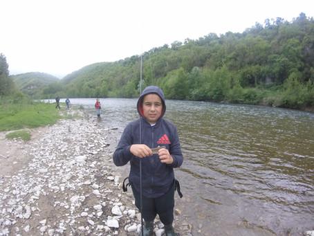 Pêche des Cyprinidés au Tenkara