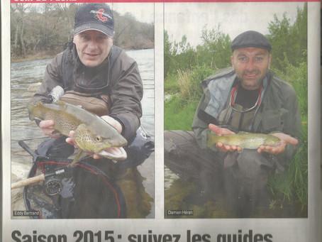 """Journal de Millau """"le coin pêche"""""""