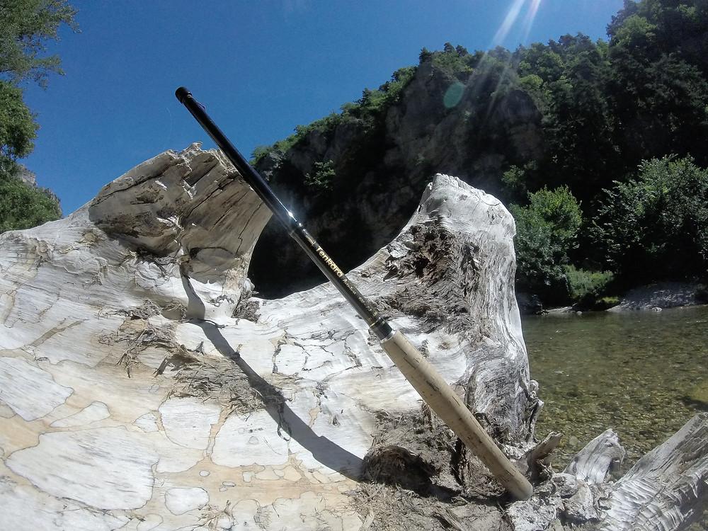 Canne TENKARA PYRENEES 4.00m action 7:3 un pur bonheur pour une rivière comme le Tarn !