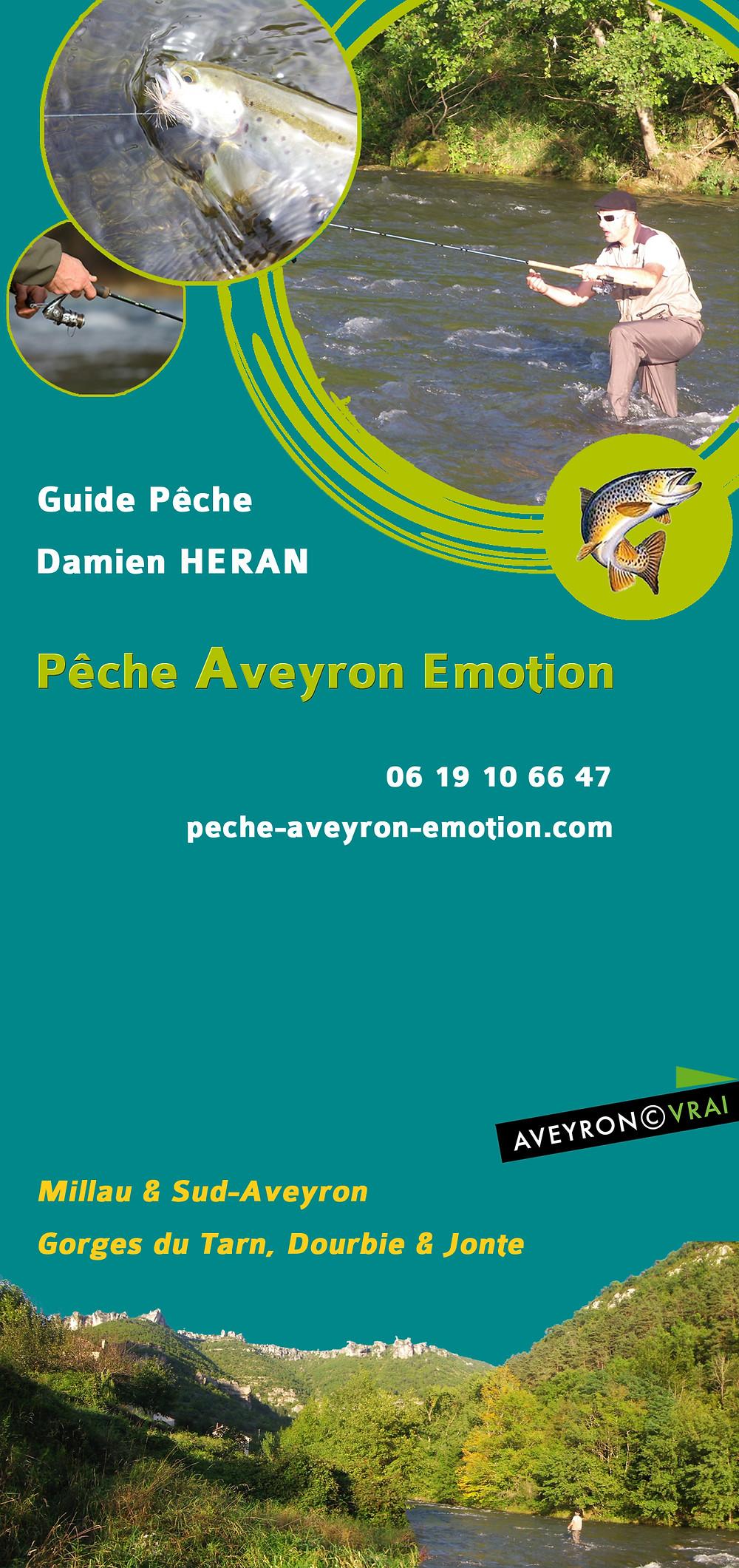 Pêche Aveyron Emotion - Guide Pêche - Damien Heran - Aveyron